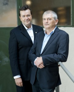 Erney Mattsson and Torbjörn Lundh
